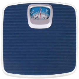 Analog Rtb Weight Machine For Human Body, Full Iron Body Analog Weighing Scale Bathroom Scale Blue