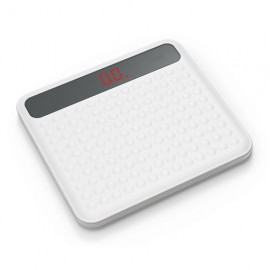 Eb7011 Digital Weight Scale, Safety Non-slip Weight Scale -calibration Weights For Digital Scale, High Precision Measurements, 400lbs/180kg Capacity (white)