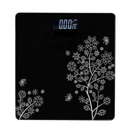 Electronic Lcd Bathroom Body Weight Weighing Scale With Advance Step On Technology (black)